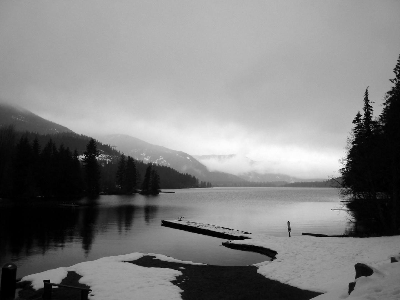 Winter at the lake