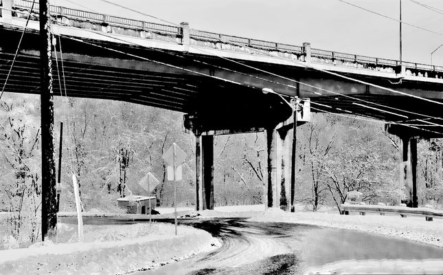 *WINTER AT THE VIADUCT*