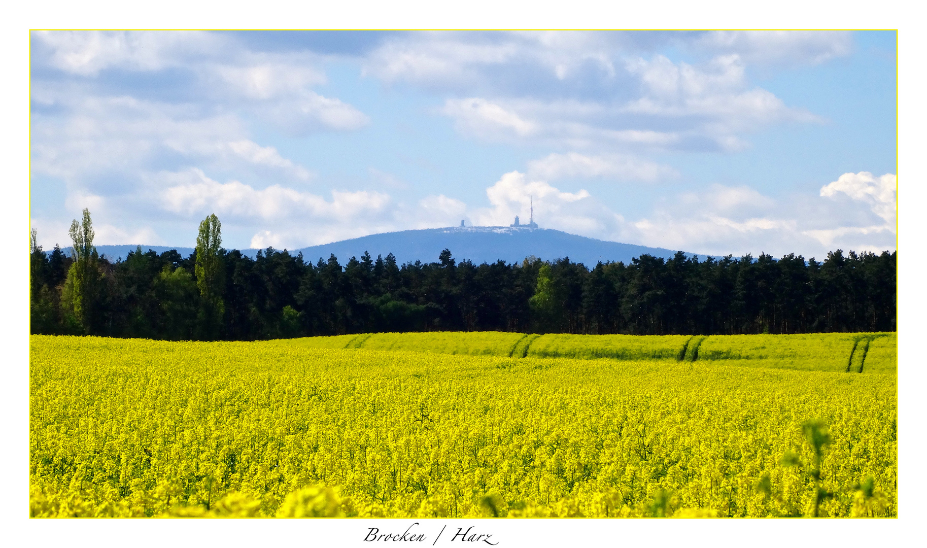 Winter auf dem Blocksberg - Frühling im Tal