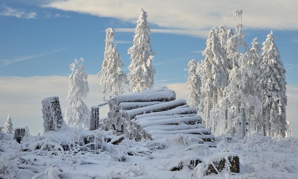 winter auf dem erbeskopf foto bild deutschland europe rheinland pfalz bilder auf. Black Bedroom Furniture Sets. Home Design Ideas