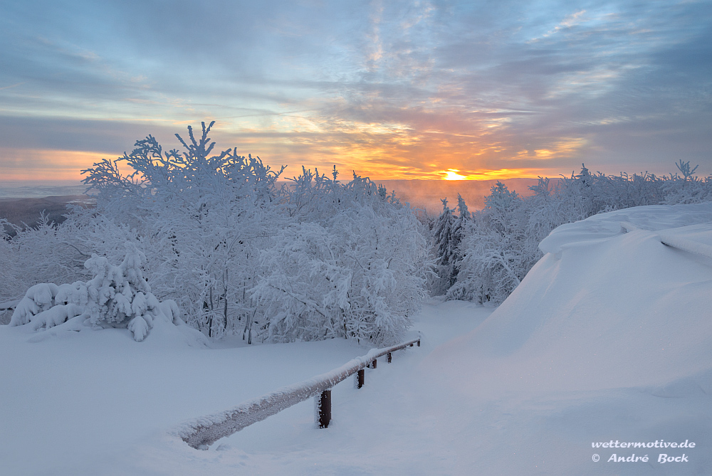 Winter auf dem Inselsberg