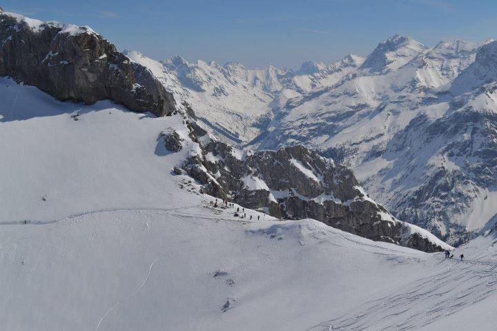 Winter auf dem Karwendelplatt