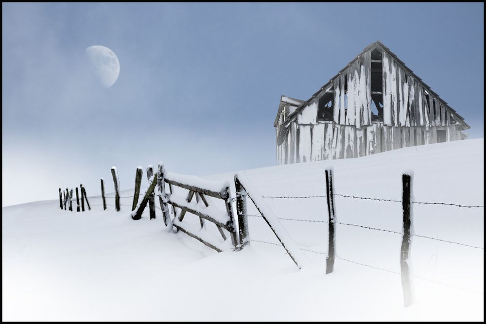 Winter auf dem Land...