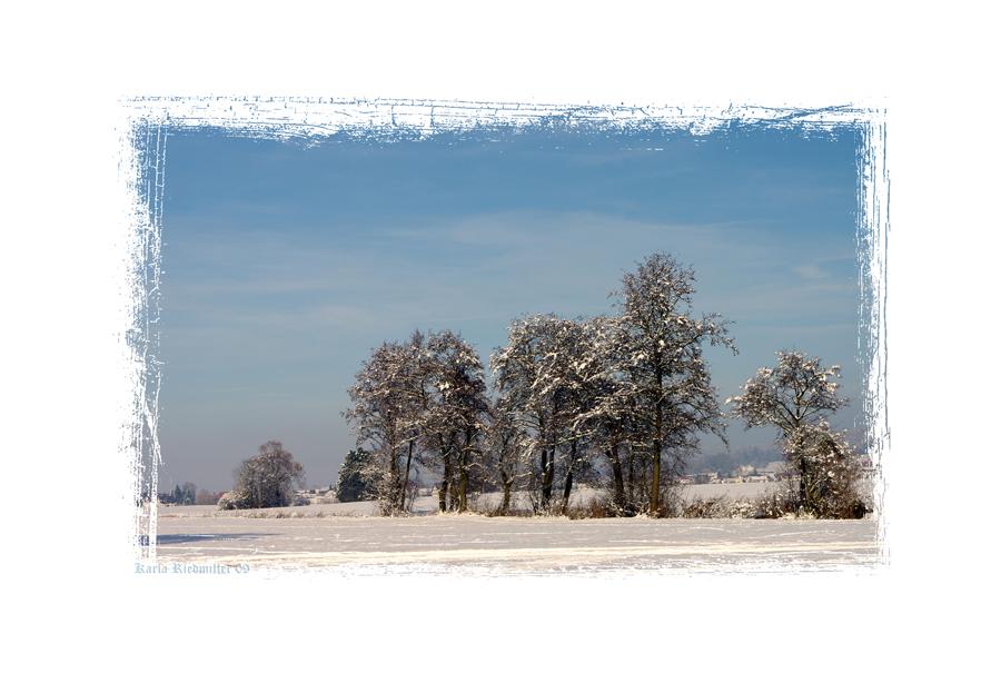 ... Winter auf dem Land ...