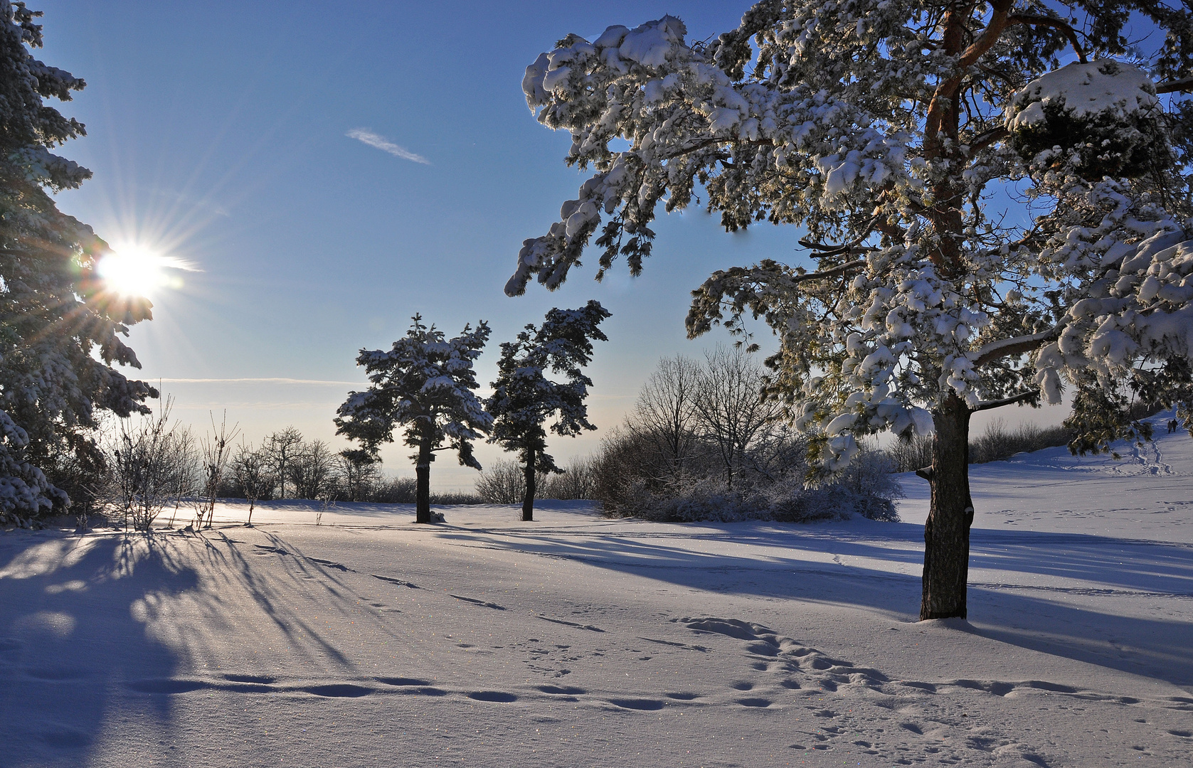 Winter auf dem Staffelberg