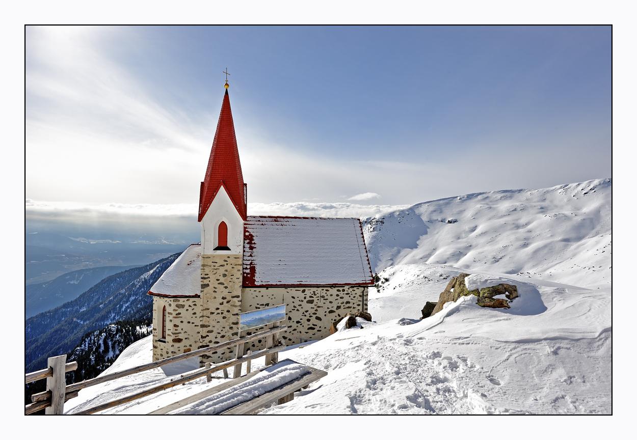 Winter auf den Latzfonser Kreuz
