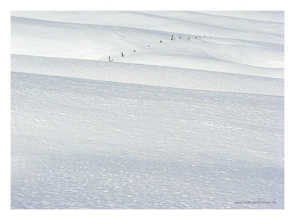 Winter auf der Alp