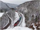 Winter auf der Geislinger Steige