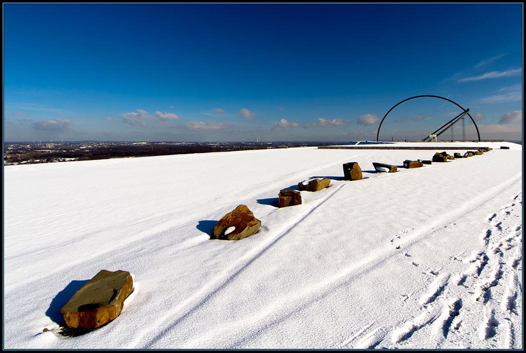 Winter auf der Halde