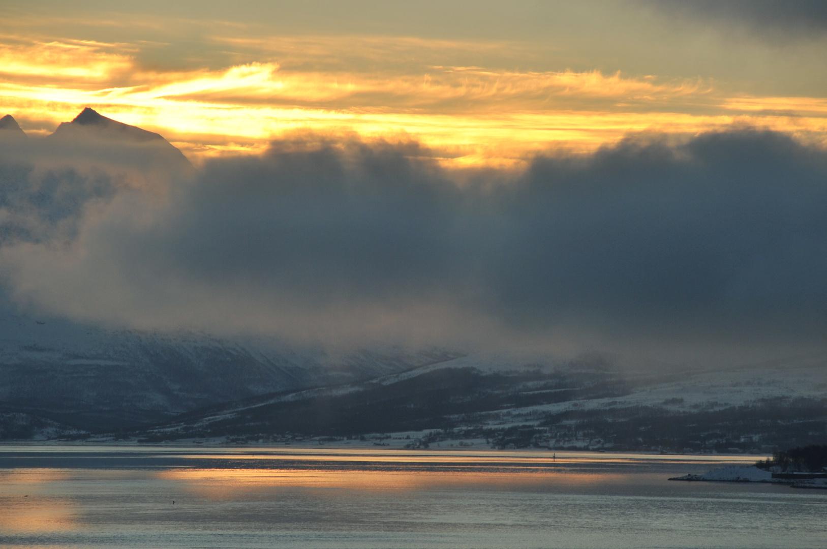Winter auf der Hurtigruten