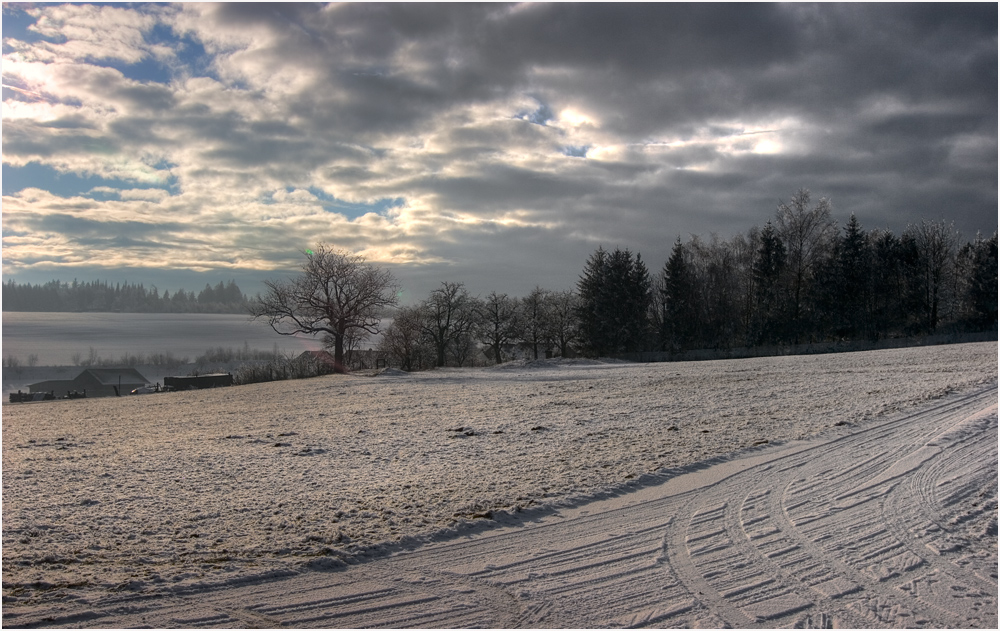 Winter auf der Ostalb