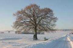 Winter auf der Schwäbischen Alb