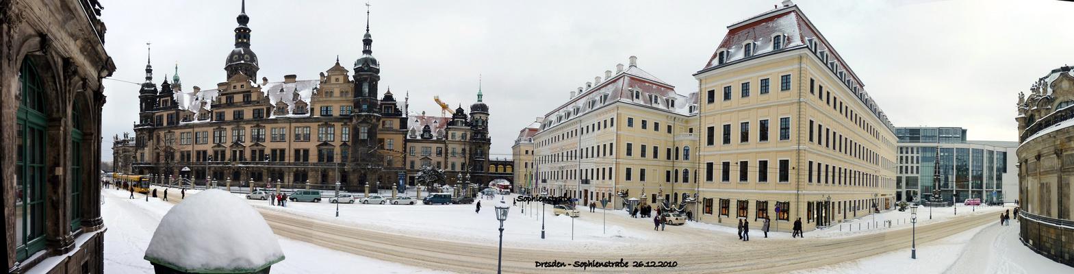 Winter auf der Sophienstraße
