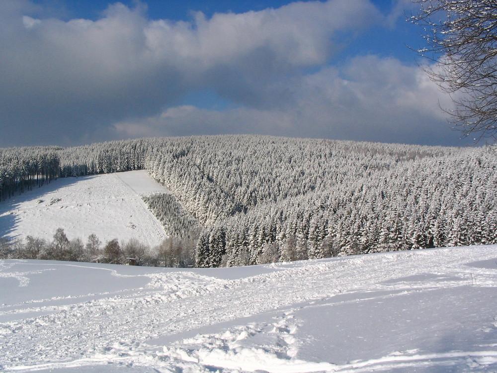 winter auf der wilden wiese skigebiet im sauerland foto bild jahreszeiten winter. Black Bedroom Furniture Sets. Home Design Ideas