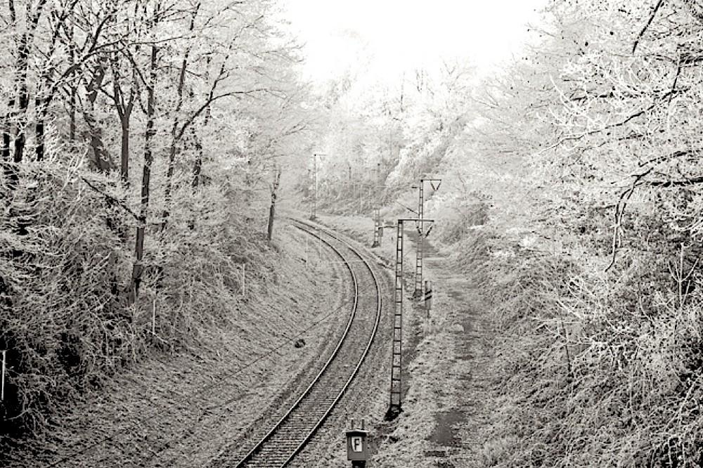 Winter auf Schienen