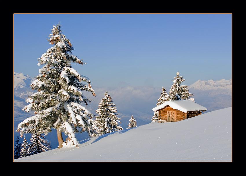 Winter auf Silum