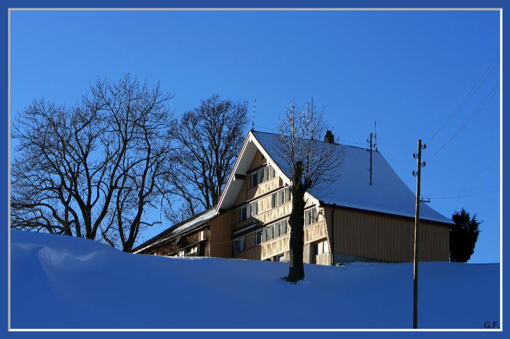 Winter bei Urnäsch