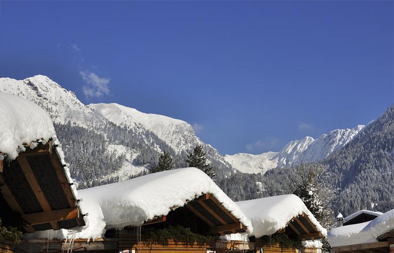Winter-Dächer