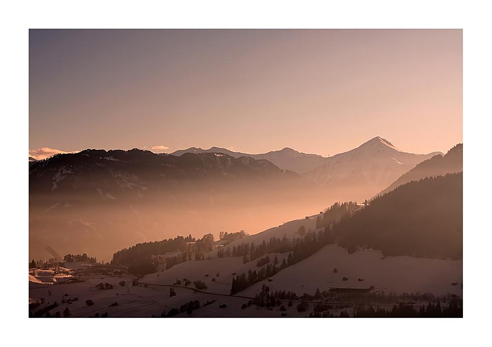 Winter dawn...