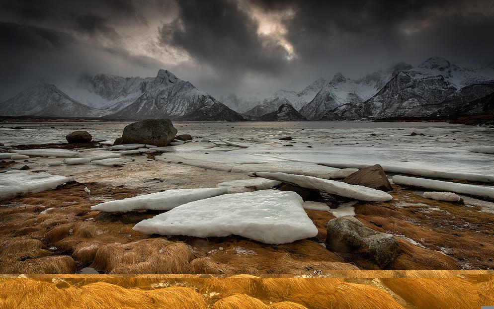 [ _winter days // Grunnførfjorden, Lofoten ]