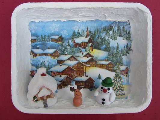 WINTER - Dorf im Schnee