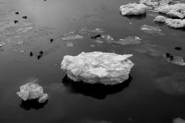 Winter-Eis-kälte