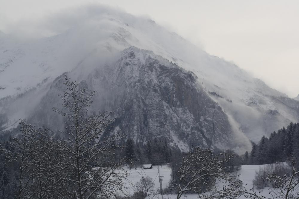 Winter Föhnstrum
