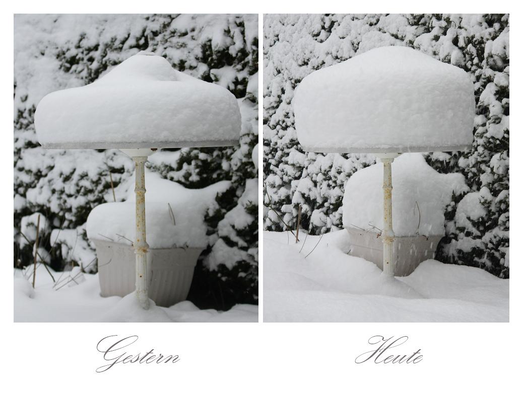 Winter - gestern u. heute