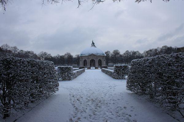 Winter Hofgarten