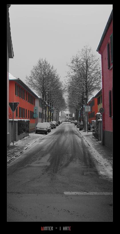 Winter - I hate