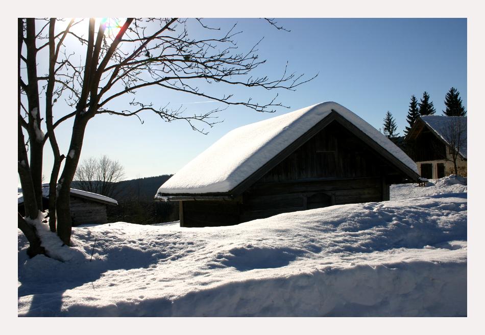 Winter im Bayern ;-)