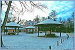 Winter im  Besucherzentrum ..