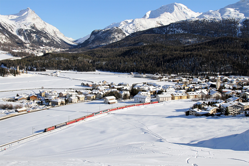 Winter im Engadin