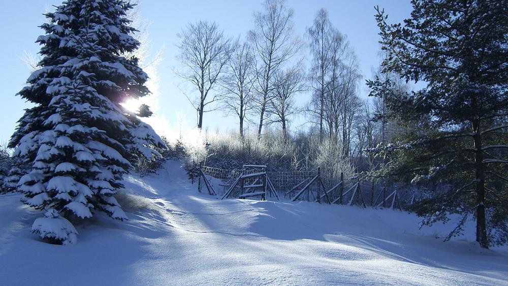 Winter im Erzgebirge 4