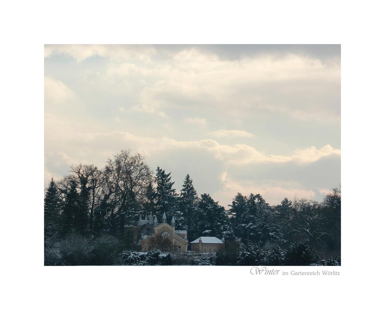 Winter im Gartenreich Wörlitz
