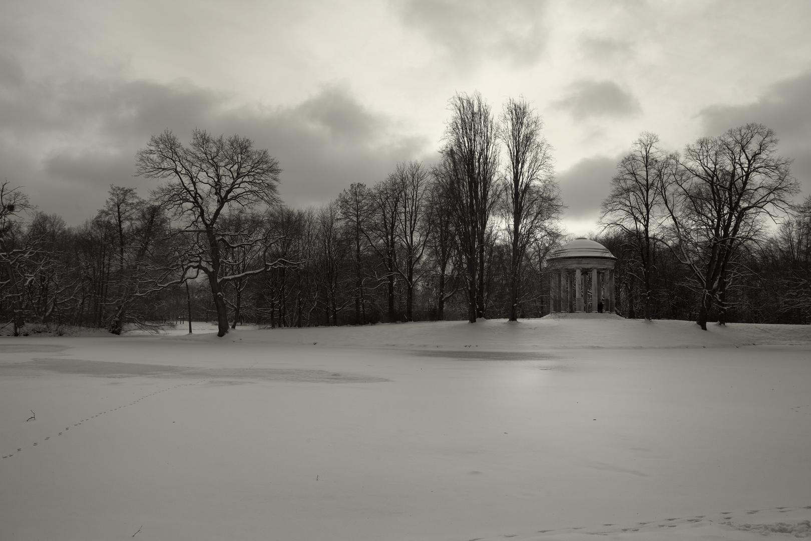 Winter im Georgengarten