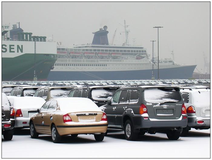 Winter im Hafen 1