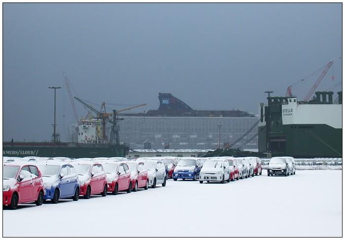 Winter im Hafen 2