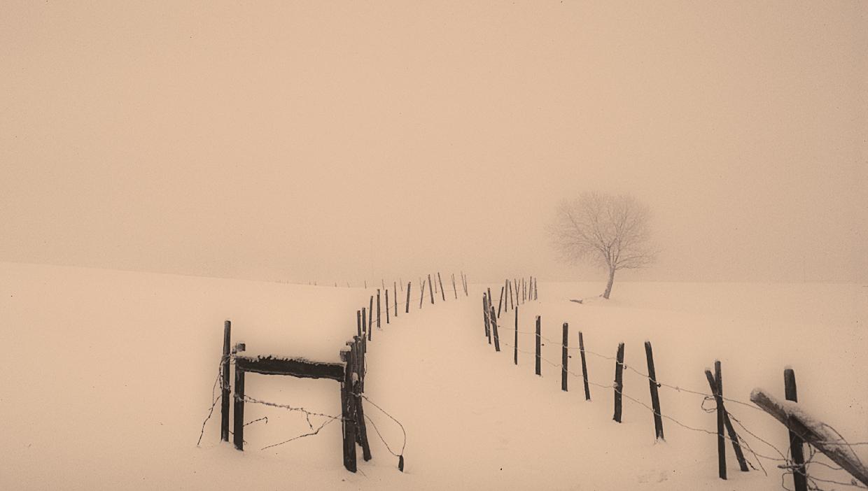 Winter im hessischen Bergland