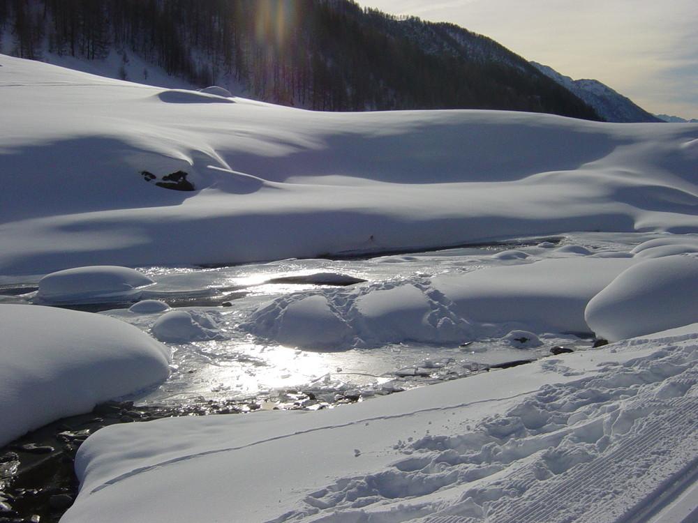 Winter im hintersten Ahrntal