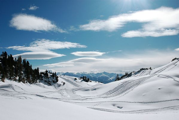 Winter im Karwendelgebirge