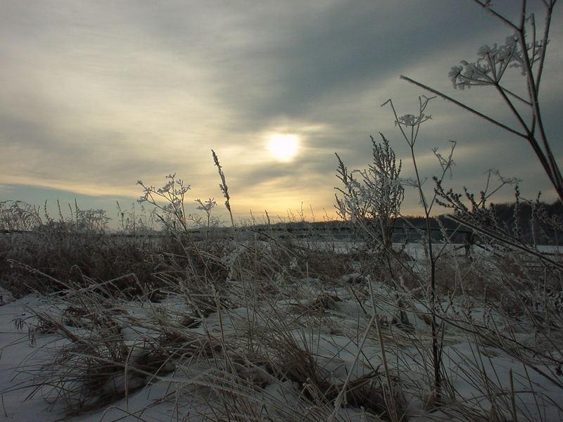 ... Winter im Land Brandenburg ...