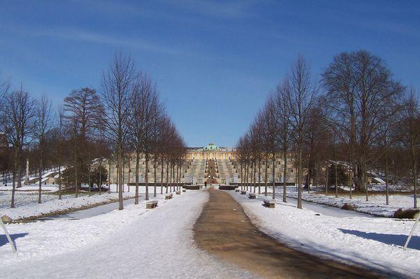 Winter im Park Sanssouci