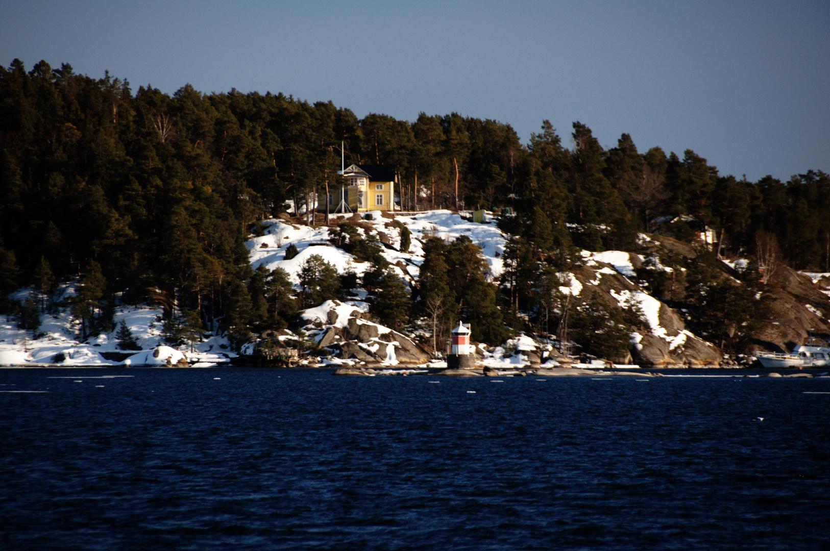 Winter im Skärgård