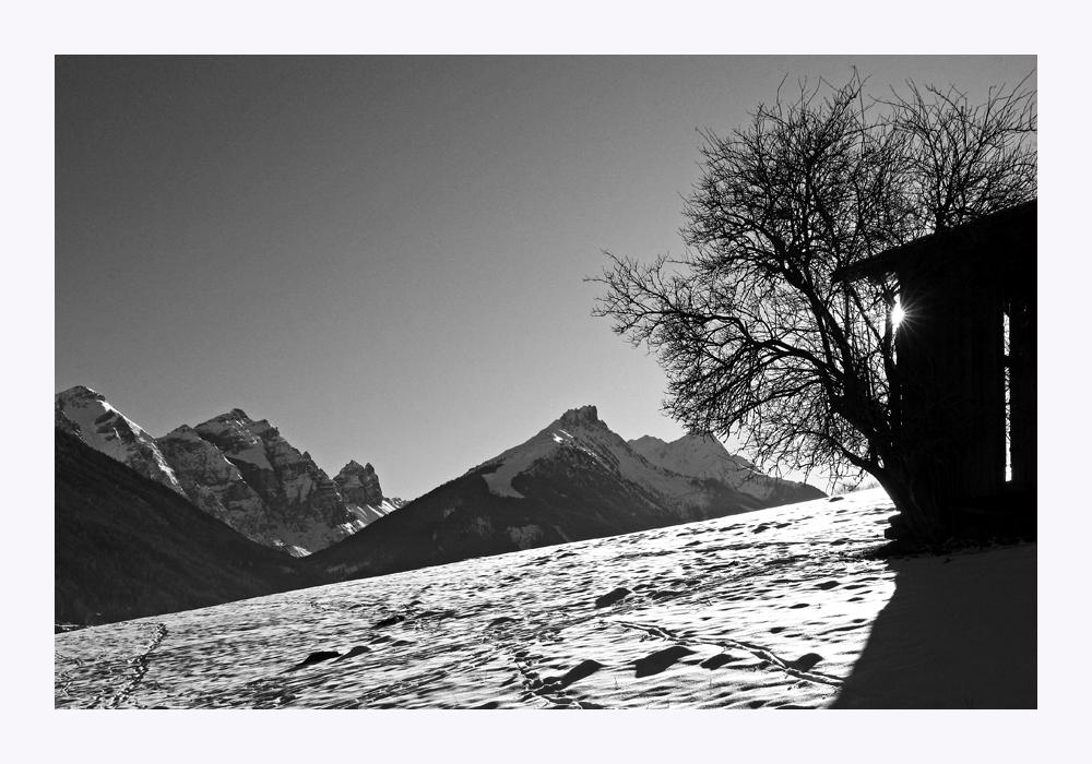 Winter im Stubai