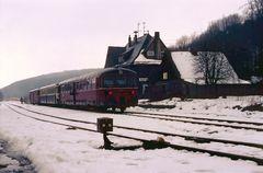 Winter im Westerwald vor 34 Jahren