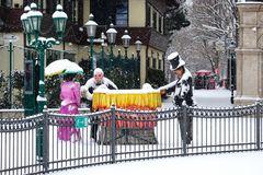 Winter im Wurstelprater #1