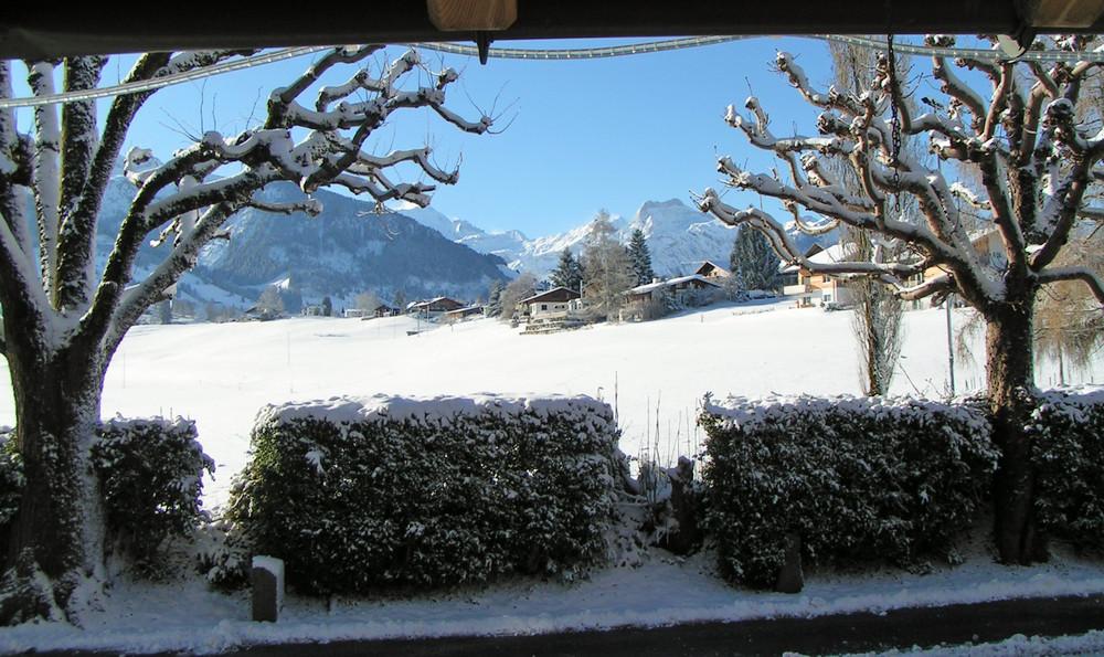 Winter in Aeschi
