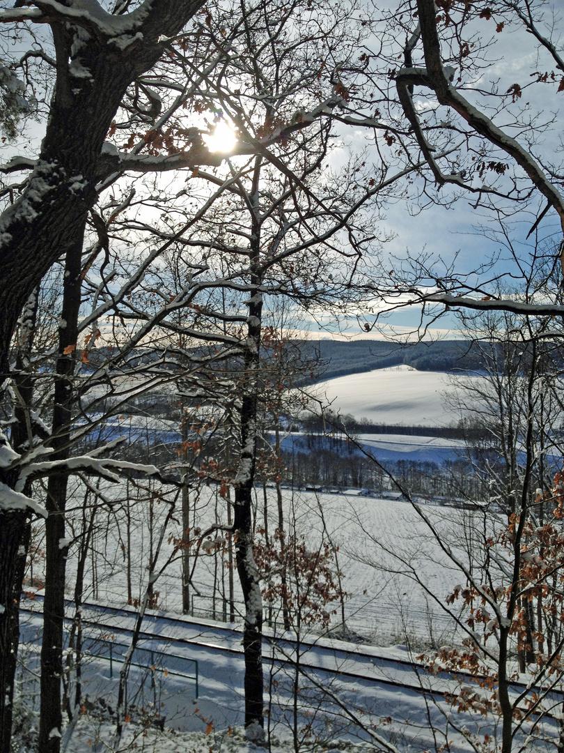 Winter in Affalter