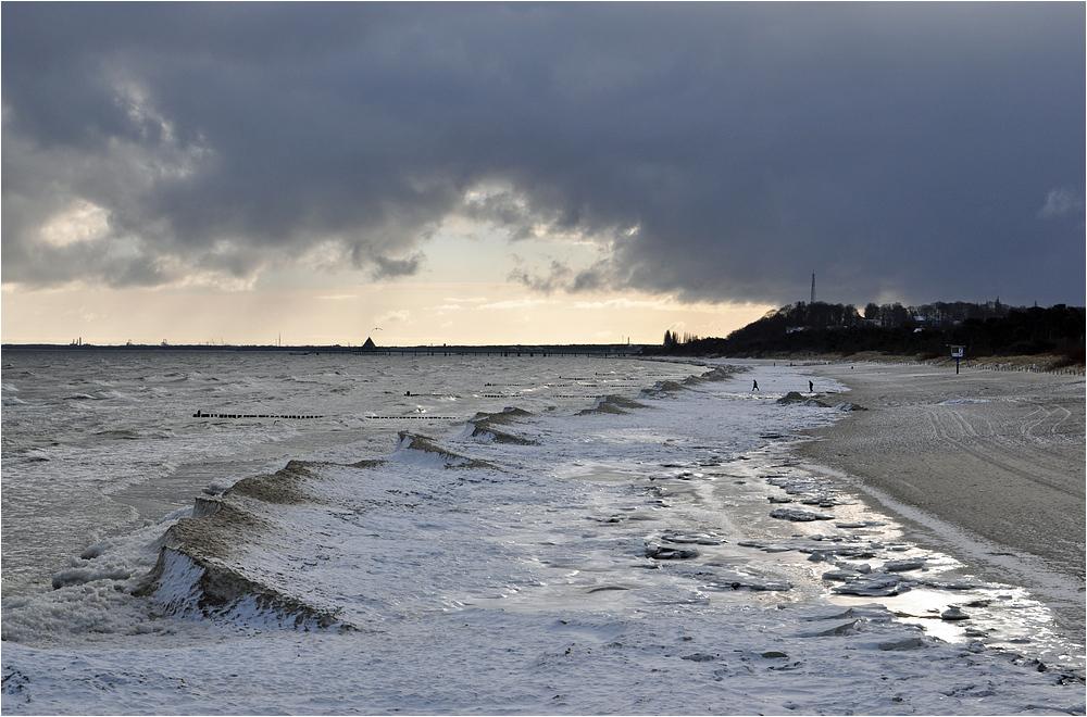 Winter in Bansin